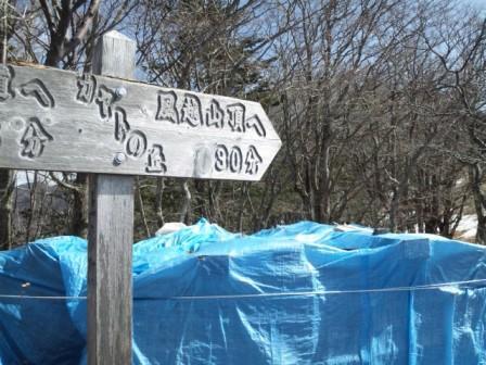 201203201039カヤトの丘に角材のストック