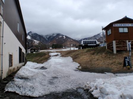 001 栂池高原スキー場ゴンドラ