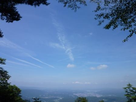 20120719 005山頂の空