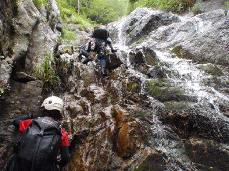 077上の30m滝