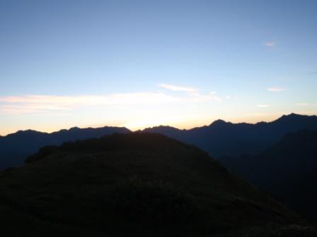 055 後立山方面
