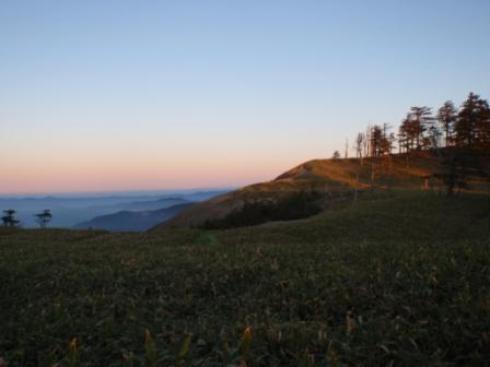 041 不動岳にむかって出発