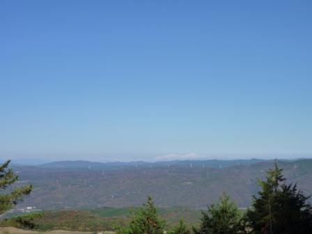 20121116 035展望台から白山