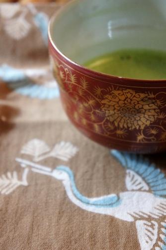 2011元旦 抹茶茶碗