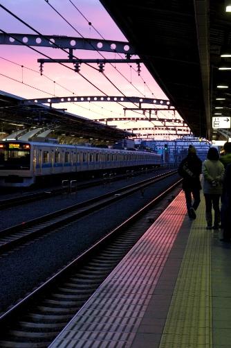 2011-01-01 C駅ホームにて