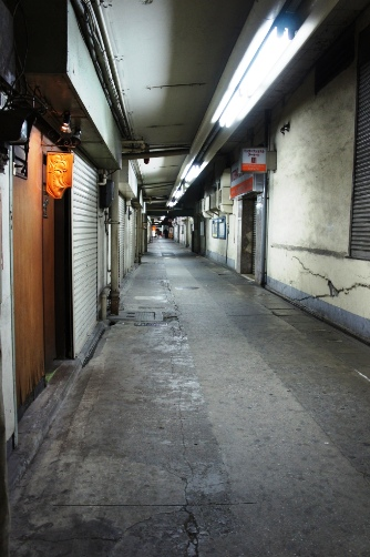 新橋のアヤシイバックストリート