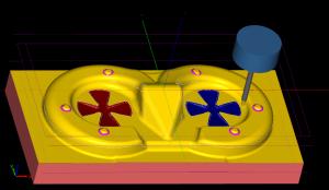 デッキサンプル品凸型表面