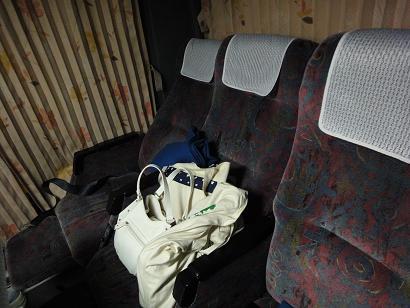 JRバス 3列シート