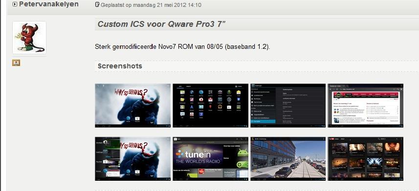 Qware Pro 3 7 ベースバンド1.2 サイト