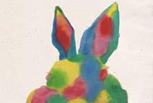 Pカラフルウサギ