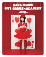 NANA MIZUKI LIVE GAMES × ACADEMY -RED- ジャケット画像