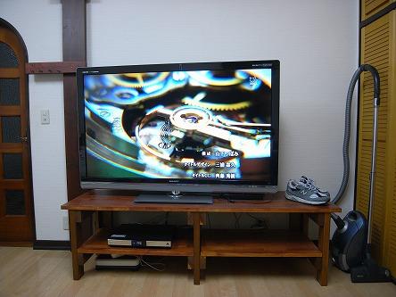 亀山さんのクアトロン05 TV台の長さは1820,畳と同じ