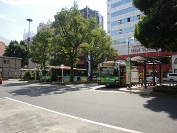 日暮里駅バス乗り場2