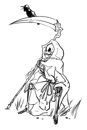 西洋の死神 Deathofgod20070103