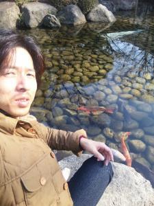 山縣有斗の鯉