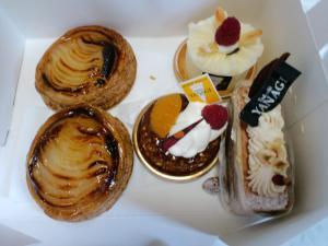 本日のお茶菓子 2012-04