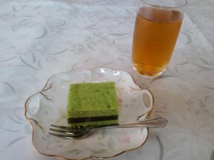 2012.05.24 蜂の家 お茶菓子