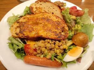 レンズ豆と野菜のパンぺルデュ