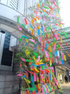 2012.07.06デパートの七夕飾り