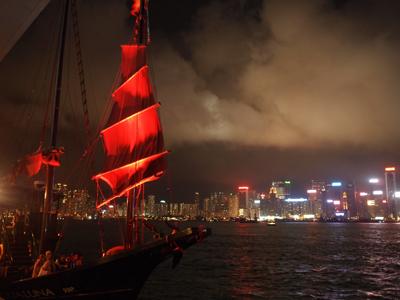 海賊船のようなアクアルナ