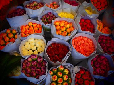 お花がとにかく安い!