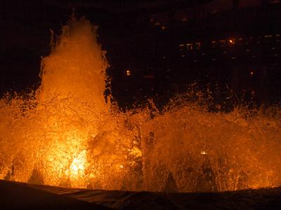 ペニンシュラの噴水