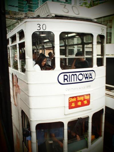 RIMOWAのトラム