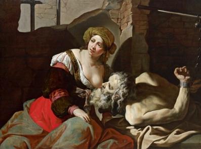 Mei,_Bernardino_-_Caritas_romana_-_17th_century