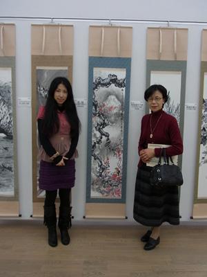 20110202 日中水墨展