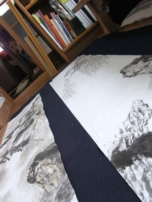 20110217 山水練習中