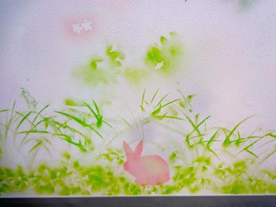 桜広場壁面4