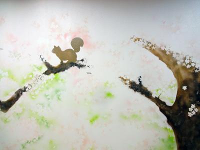 桜広場壁面6