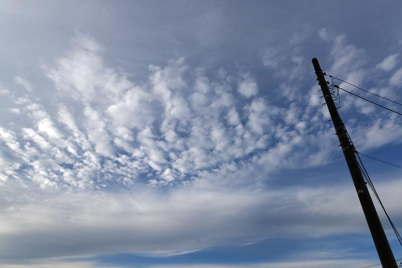 三連休の雲-2