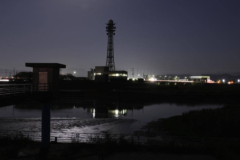 月明かり 堰-3
