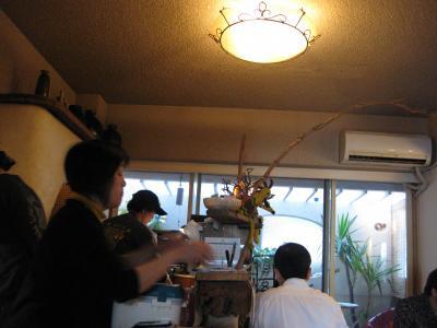 CAFE DE MONO 店内