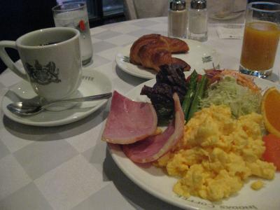 イノダコーヒ朝食