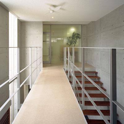 朝日設備工業 渡り廊下