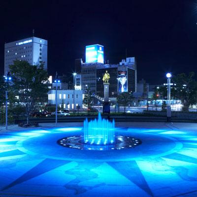 岐阜駅前噴水003