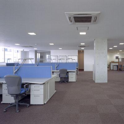 朝日設備工業オフィススペース1