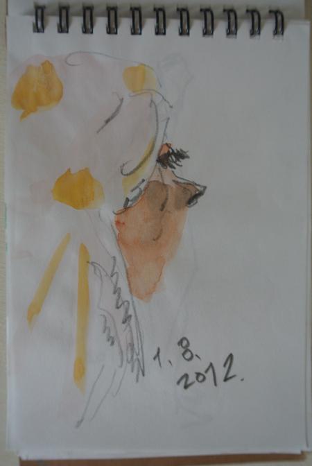 2012 Pari to Wien 素描