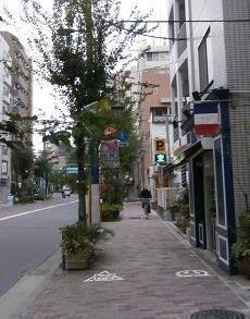 世田谷の街