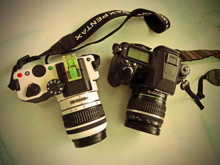 K-01 と K-5 IIs