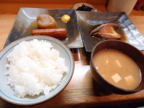 3/31あき・ブリ照り定食