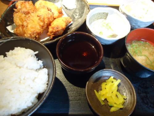 5/31薩摩八郎・鶏天定食