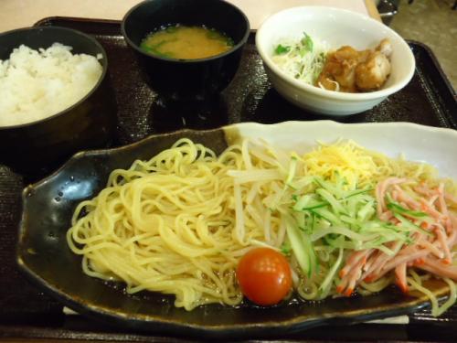 7/31萬願寺・冷麺定食
