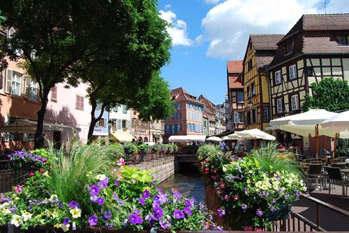 フランスのコルマールの街並み その7