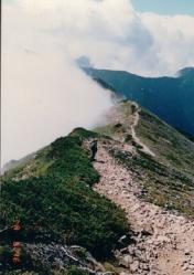 爺が岳稜線