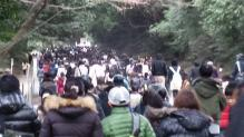 初詣2011l