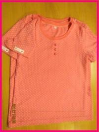 水玉半袖Tシャツ200