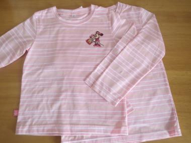 ピンクストライプTシャツ380